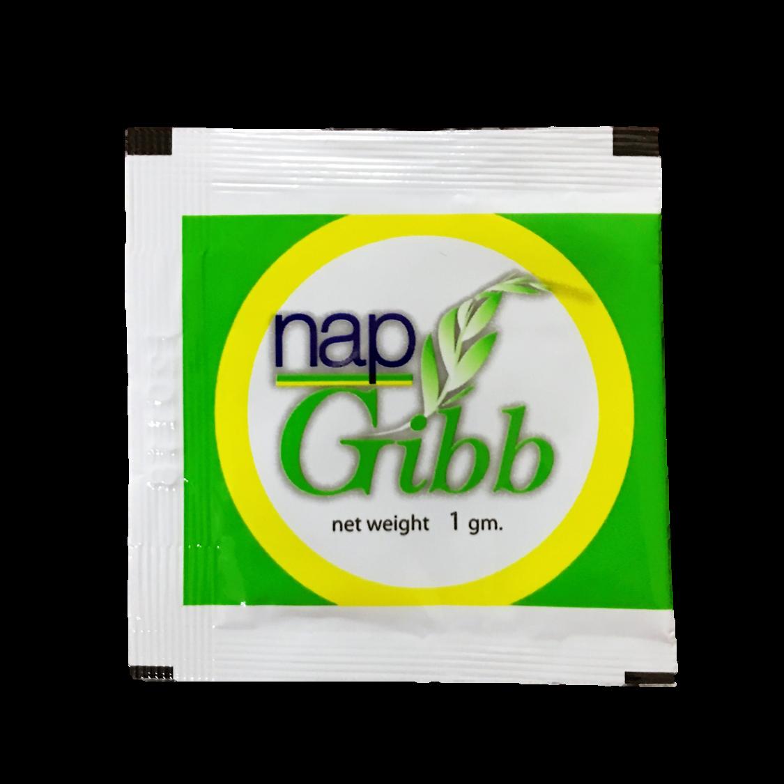 Nap Gibb Gibberellic Acid Plant Growth Regulator 1gm x 5 Packets Plus Additional FREE 3 Packets (PROMOTION) (White)